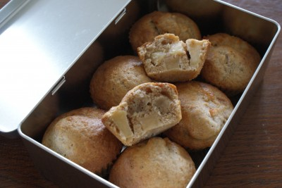 Muffins pomme-cannelle