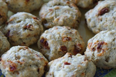 Cookies tomates/ chèvre