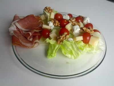 Un nid douillet pour une bonne salade