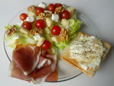 Une salade pleine de saveurs