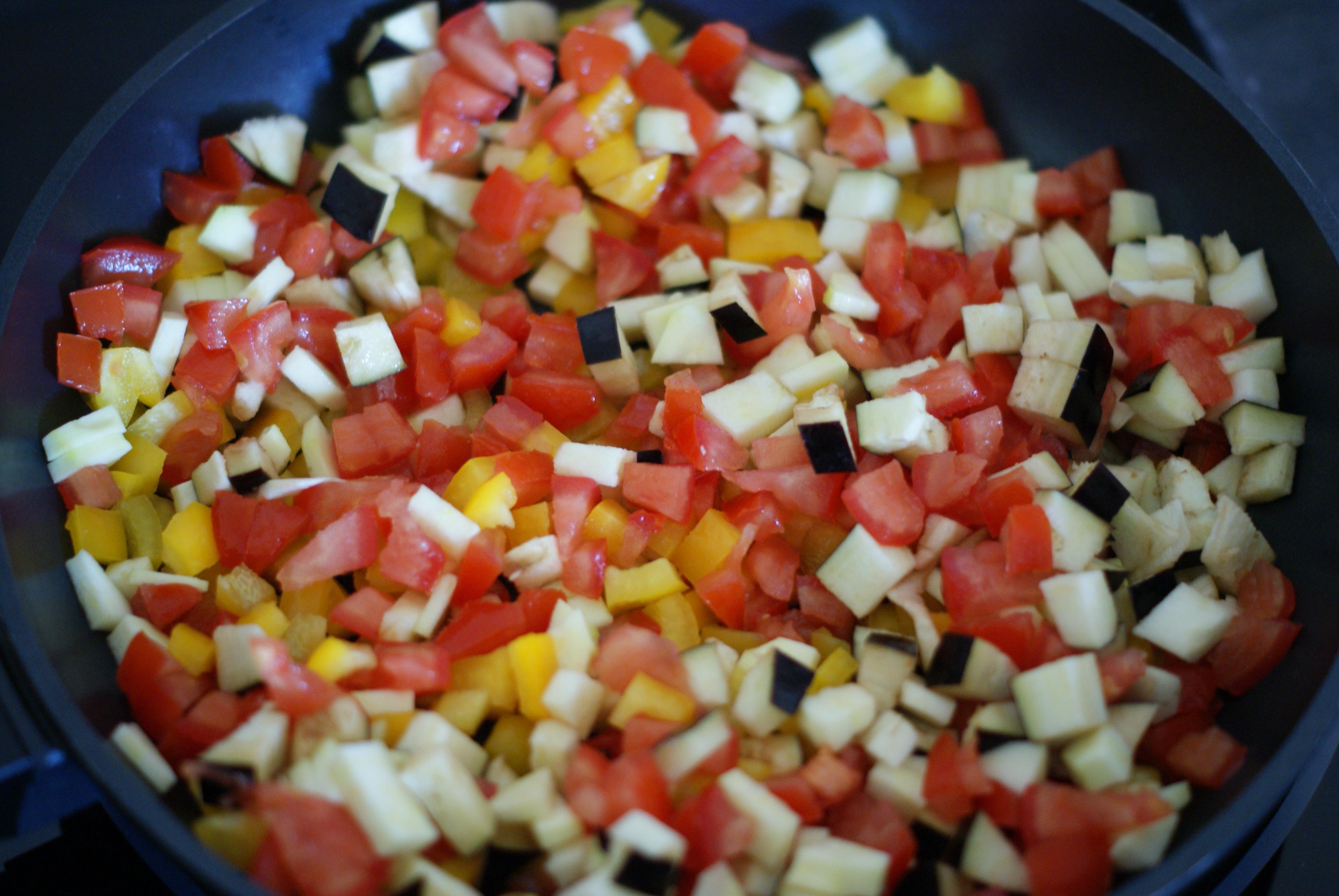 poelee de legumes couleurs