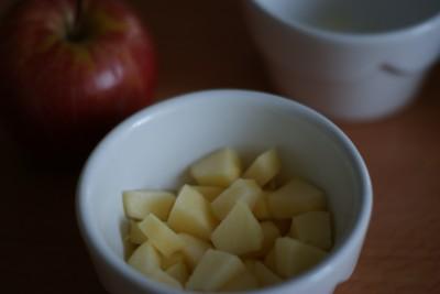Pommes en cubes