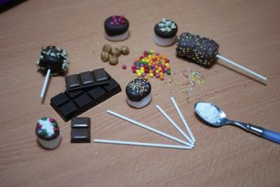 Chamallows au chocolat