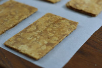 Rectangles de pâte feuilletée
