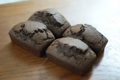 Mini  cakes moelleux au chocolat
