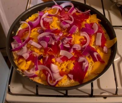 Avant cuisson cela ressemble à ceci.